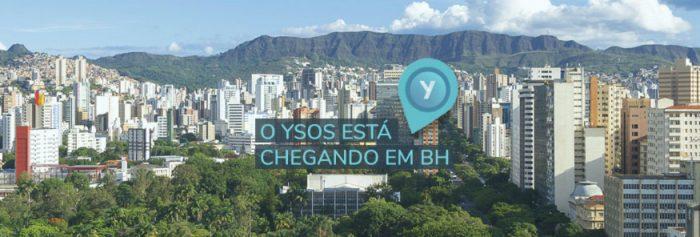 ysos liberado para Belo Horizonte